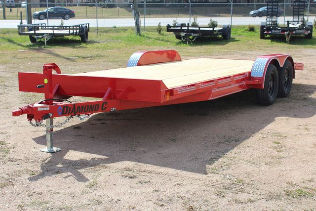 2021 Diamond C GTF235 - 20x83 General Tandem Flatbed - Open Car Trailer/ Hauler CONROE, TX 9