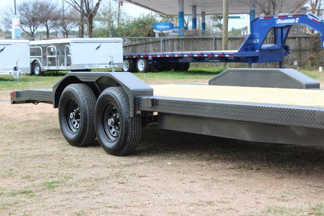 2021 Diamond C GTF252 20x82 20' Open Car Hauler - Drive Over Fenders - CONROE, TX 1