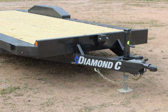 2021 Diamond C GTF252 20x82 20' Open Car Hauler - Drive Over Fenders - CONROE, TX 2