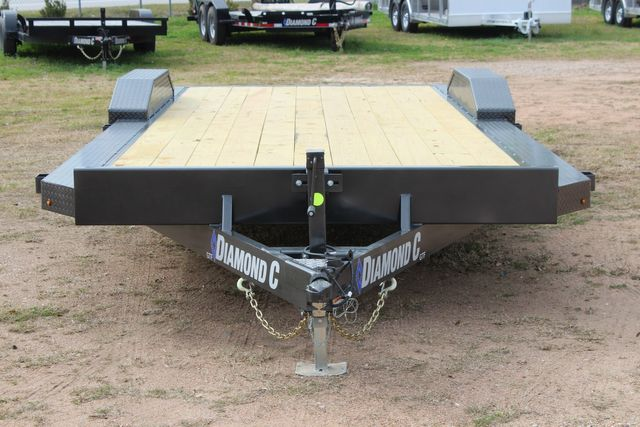 2021 Diamond C GTF252 20x82 20' Open Car Hauler - Drive Over Fenders - CONROE, TX 3