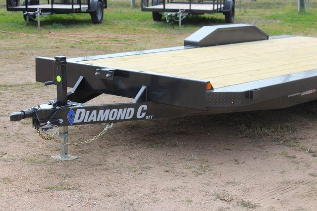 2021 Diamond C GTF252 20x82 20' Open Car Hauler - Drive Over Fenders - CONROE, TX 4