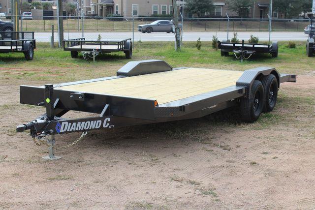 2021 Diamond C GTF252 20x82 20' Open Car Hauler - Drive Over Fenders - CONROE, TX 6