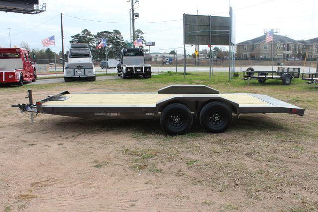2021 Diamond C GTF252 20x82 20' Open Car Hauler - Drive Over Fenders - CONROE, TX 7