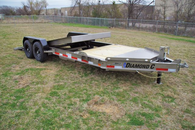 2021 Diamond C HDT 22' TANDEM AXLE TILT in Keller, TX 76111