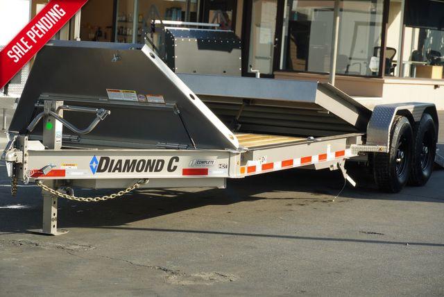 2021 Diamond C HDT 8.5 X 22' TANDEM AXLE TILT $8795