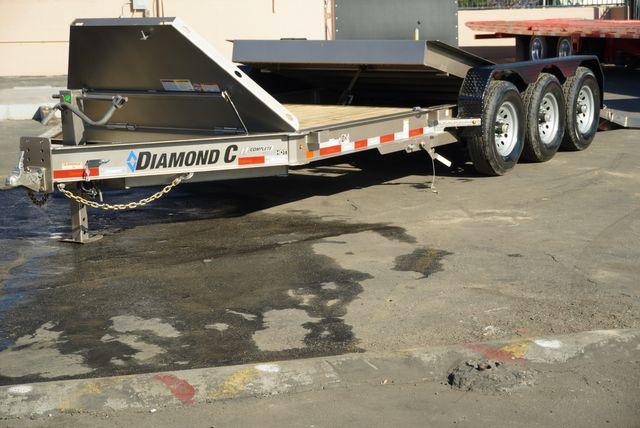 2021 Diamond C HDT 8.5 X 22' TRIPLE AXLE TILT $10,995 in Keller, TX 76111
