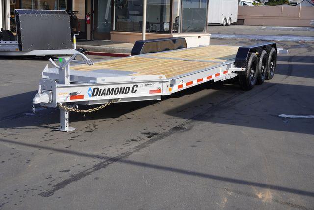 2021 Diamond C HDT 8.5 X 25' TRIPLE AXLE TILT $10,995 in Keller, TX 76111