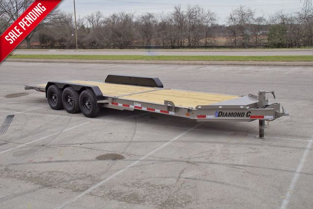 "2021 Diamond C 82"" X 25' TRIPLE AXLE HD TILTING TRAILER in Keller, TX 76111"
