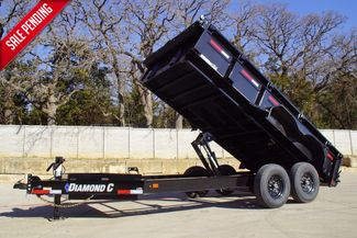 "2021 Diamond C LOW PROFILE DUMP 14'L X 82""W X 24""H in Keller, TX 76111"