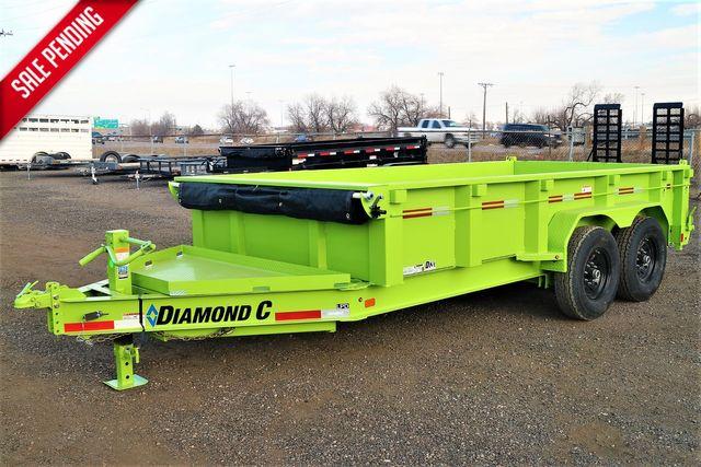 """2021 Diamond C LPD207 - 82""""x14-$11,695.00"""
