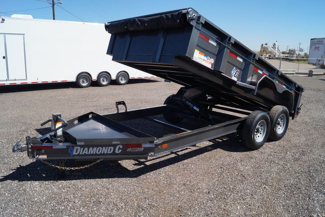2021 Diamond C - 14' Low Pro Dump - $9,995