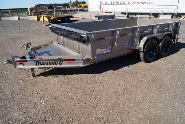 2021 Diamond C - 14' Low Pro Dump - $9,995