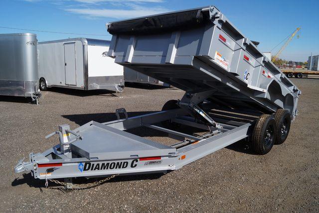 2021 Diamond C - 14' Low Pro Dump - $9,995 in Keller, TX 76111