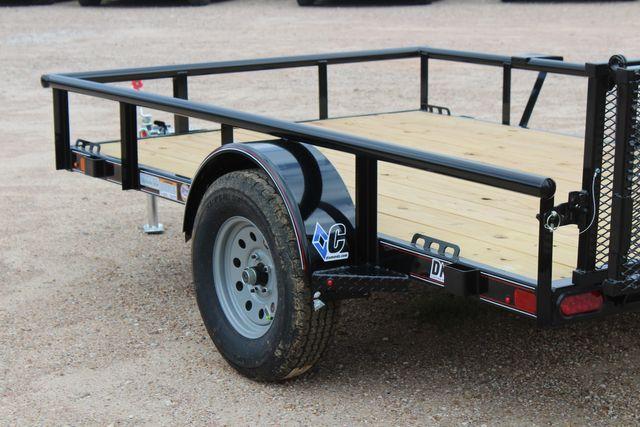 2021 Diamond C PSA - 10 PREMIUM SINGLE AXLE 3.5K WITH BIFOLD REAR GATE CONROE, TX 9