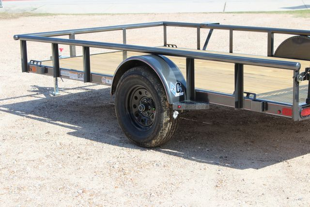 2021 Diamond C PSA - 12 SINGLE AXLE 12 X 83 BIFOLD GATE W/ BLACK WHEELS CONROE, TX 11