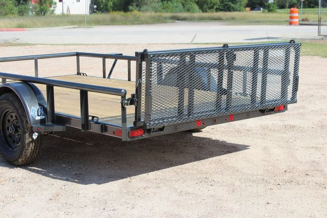 2021 Diamond C PSA - 12 SINGLE AXLE 12 X 83 BIFOLD GATE W/ BLACK WHEELS CONROE, TX 12