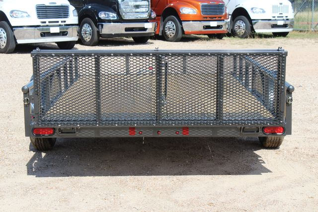 2021 Diamond C PSA - 12 SINGLE AXLE 12 X 83 BIFOLD GATE W/ BLACK WHEELS CONROE, TX 13