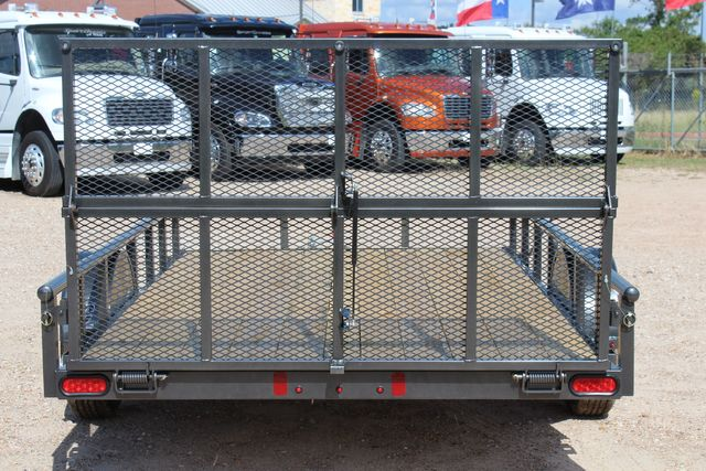 2021 Diamond C PSA - 12 SINGLE AXLE 12 X 83 BIFOLD GATE W/ BLACK WHEELS CONROE, TX 14