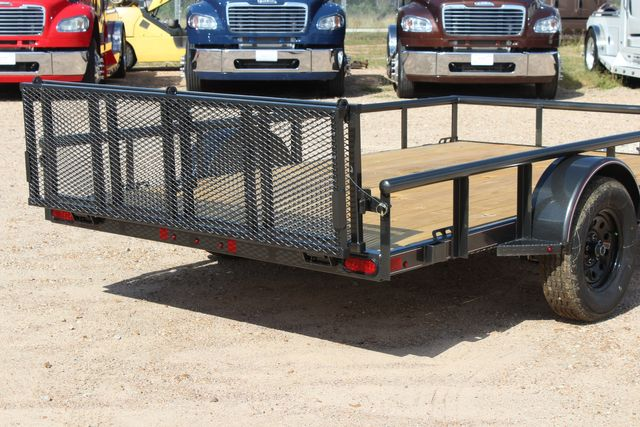 2021 Diamond C PSA - 12 SINGLE AXLE 12 X 83 BIFOLD GATE W/ BLACK WHEELS CONROE, TX 18