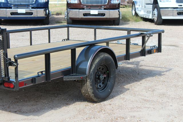 2021 Diamond C PSA - 12 SINGLE AXLE 12 X 83 BIFOLD GATE W/ BLACK WHEELS CONROE, TX 19
