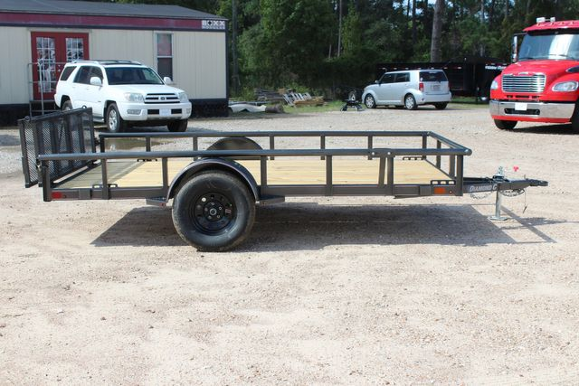 2021 Diamond C PSA - 12 SINGLE AXLE 12 X 83 BIFOLD GATE W/ BLACK WHEELS CONROE, TX 21