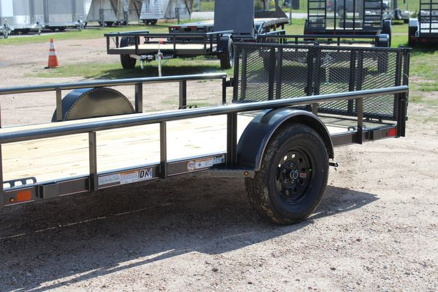 2021 Diamond C PSA - 12 SINGLE AXLE 12 X 83 BIFOLD GATE W/ BLACK WHEELS CONROE, TX 6