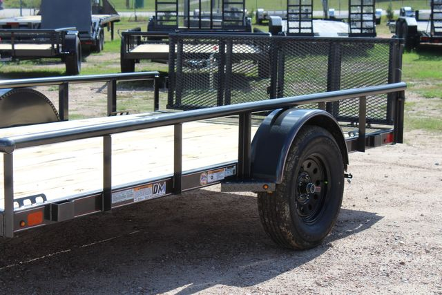 2021 Diamond C PSA - 12 SINGLE AXLE 12 X 83 BIFOLD GATE W/ BLACK WHEELS CONROE, TX 7