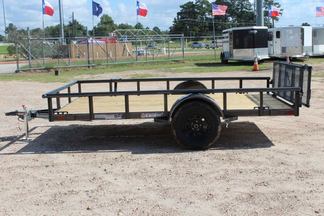 2021 Diamond C PSA - 12 SINGLE AXLE 12 X 83 BIFOLD GATE W/ BLACK WHEELS CONROE, TX 9