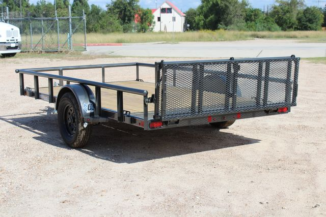 2021 Diamond C PSA - 12 SINGLE AXLE 12 X 83 BIFOLD GATE W/ BLACK WHEELS CONROE, TX 10