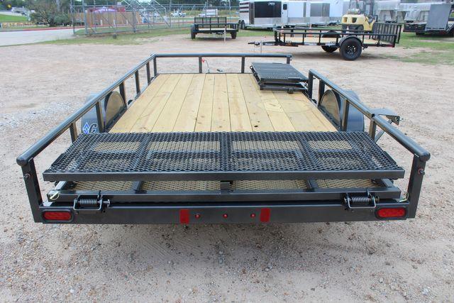 2021 Diamond C PSA - 14 ATV SINGLE AXLE UTILITY TRAILER ATV SIDE LOAD PACKAGE CONROE, TX 16