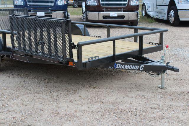 2021 Diamond C PSA - 14 ATV SINGLE AXLE UTILITY TRAILER ATV SIDE LOAD PACKAGE CONROE, TX 2