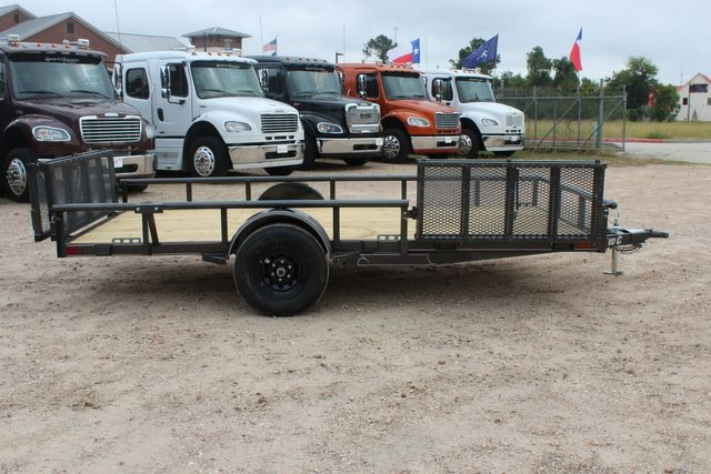 2021 Diamond C PSA - 14 ATV SINGLE AXLE UTILITY TRAILER ATV SIDE LOAD PACKAGE CONROE, TX 20