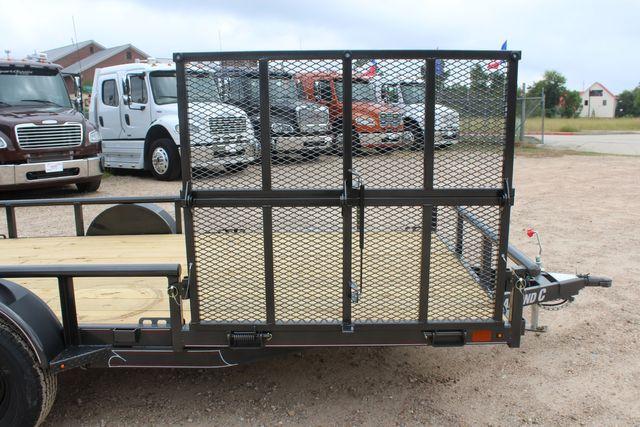 2021 Diamond C PSA - 14 ATV SINGLE AXLE UTILITY TRAILER ATV SIDE LOAD PACKAGE CONROE, TX 22