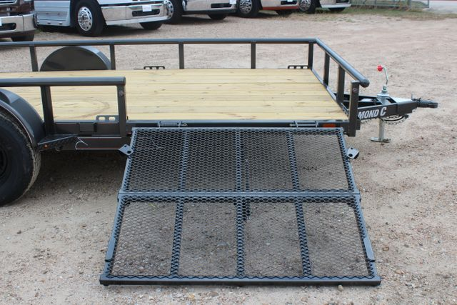 2021 Diamond C PSA - 14 ATV SINGLE AXLE UTILITY TRAILER ATV SIDE LOAD PACKAGE CONROE, TX 23