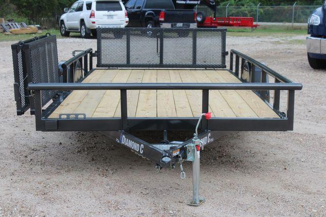 2021 Diamond C PSA - 14 ATV SINGLE AXLE UTILITY TRAILER ATV SIDE LOAD PACKAGE CONROE, TX 3