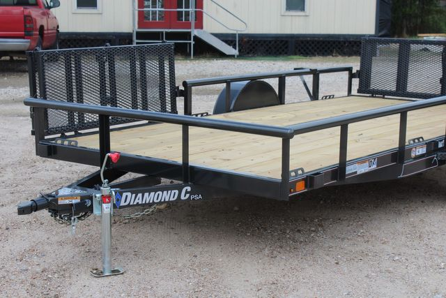 2021 Diamond C PSA - 14 ATV SINGLE AXLE UTILITY TRAILER ATV SIDE LOAD PACKAGE CONROE, TX 4