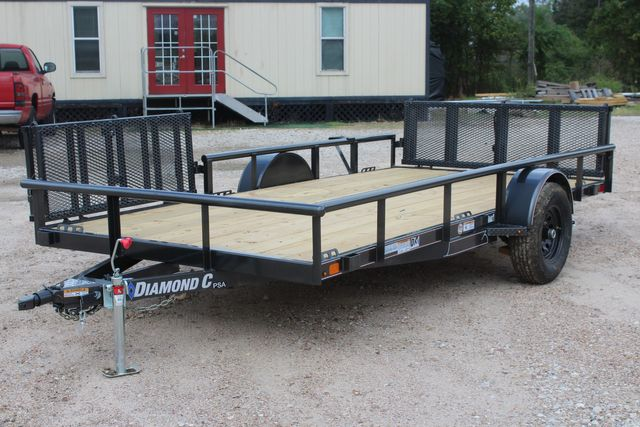 2021 Diamond C PSA - 14 ATV SINGLE AXLE UTILITY TRAILER ATV SIDE LOAD PACKAGE CONROE, TX 6