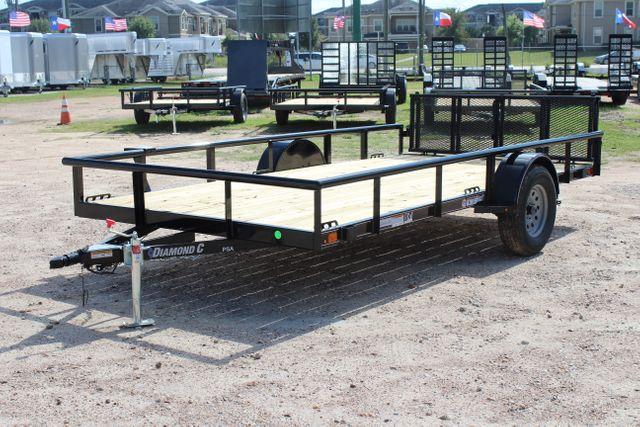 2021 Diamond C PSA - 14 SINGLE AXLE UTILITY CONROE, TX 8