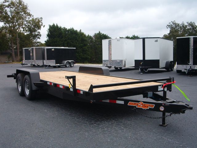 2021 Down To Earth 20 ft 5 Ton Car Hauler