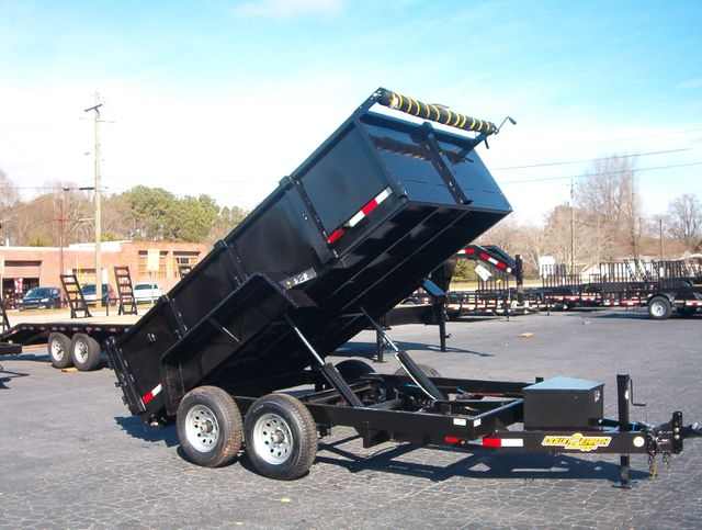 2021 Dump Trailer Down To Earth Dump 6x12 5 Ton