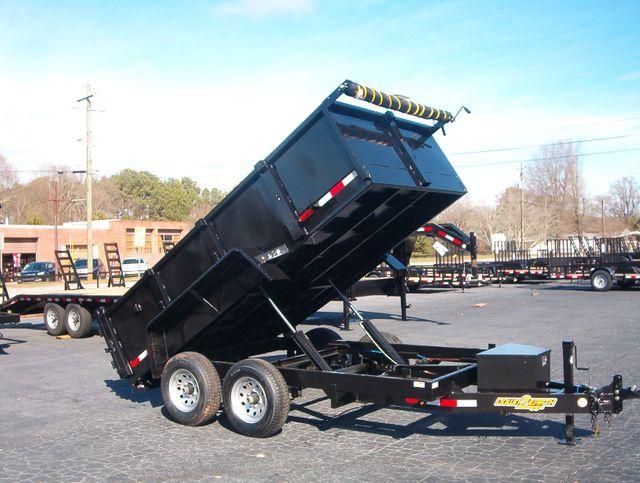 2021 Dump Trailer Down To Earth Dump 6x12 5 Ton in Madison, Georgia 30650