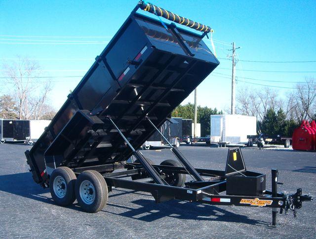 2021 Dump Trailer Down To Earth Dump 7x14 7 Ton