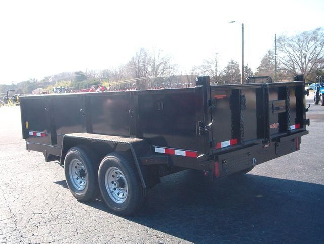 2021 Dump Trailer Down To Earth Dump 7x14 7 Ton in Madison, Georgia 30650