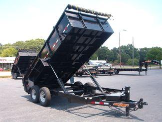 2021 Dump Trailer Down To Earth Dump 7x16 7 Ton in Madison, Georgia 30650