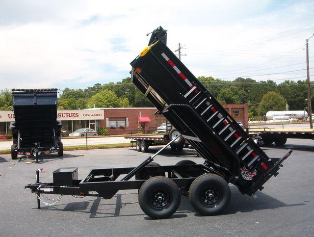 2021 Dump Trailer Homesteader Dump 7X10 in Madison, Georgia 30650
