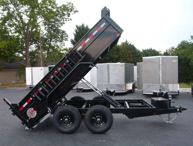 2021 Dump Trailer Homesteader Dump 7x12 6 Ton