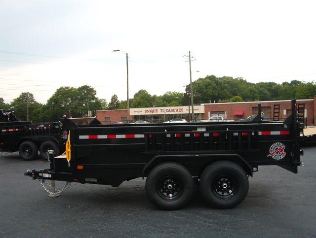 2021 Dump Trailer Homesteader Dump 7x12 6 Ton in Madison, Georgia 30650