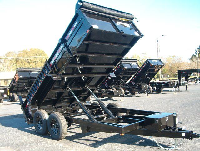 2021 Dump Trailer Homesteader Dump 7x14 7 Ton in Madison, Georgia 30650