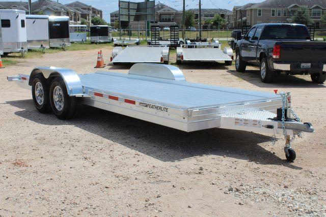 2020 Featherlite 3110 20' Open Aluminum Bumper Pull Car Trailer CONROE, TX 17