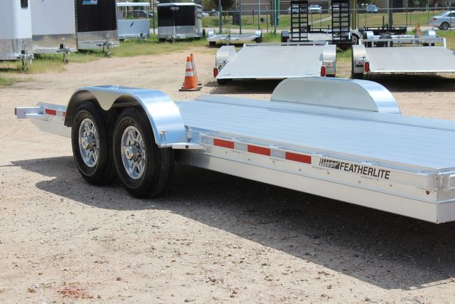2020 Featherlite 3110 20' Open Aluminum Bumper Pull Car Trailer CONROE, TX 1